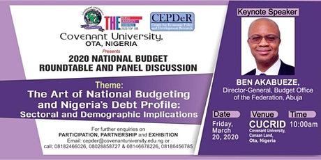 2020 National Budget Roundtable and Panel Discussion tickets