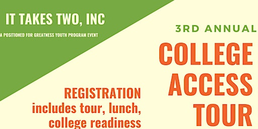 IT TAKES TWO, INC 2020 College Access Tour