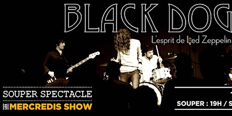 Souper Spectacle - Black Dog - L'esprit de Led Zeppelin billets