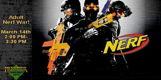 Adult Nerf War