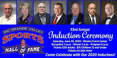 33rd Annual Rio Grande Valley Sports Hall of Fame Induction Ceremony tickets