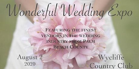 Wonderful Wedding Bridal Expo 2020 tickets