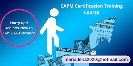 CAPM Certification Training in Bishop, CA tickets