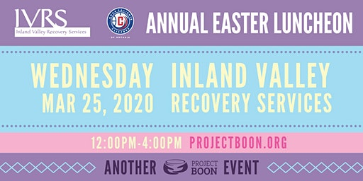 IVRS Easter Event- Vendors Needed