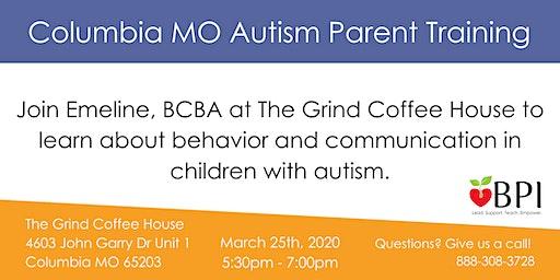Columbia MO Autism Parent Training