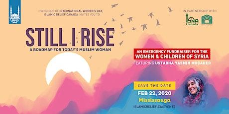 Still I Rise ft Ustadha Yasmin Mogahed · Mississauga tickets