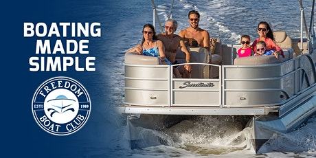 Enter to Win a 4 Hr Captained Pontoon Ride at the Atlantic City Boat Show! tickets