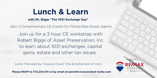 Lunch & Learn - 1031 Exchange