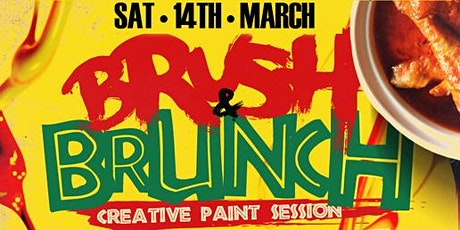 BRUSH & BRUNCH | Paint party | Food Included (8pm  tickets