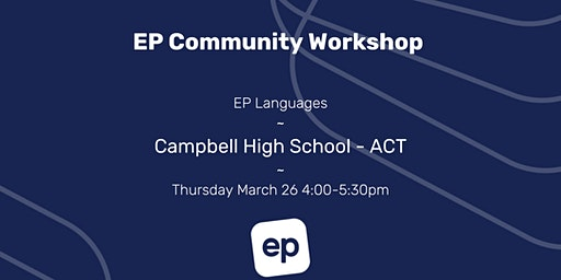 EP Community Workshop - ACT