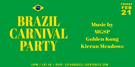 Brazil Carnival Party tickets