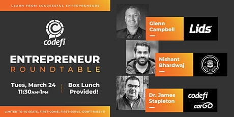 Codefi's Entrepreneur Roundtable Session 1 tickets