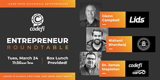 Codefi's Entrepreneur Roundtable Session 1