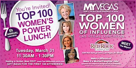 MYVEGAS Top 100 Women's Power Lunch 2020 tickets