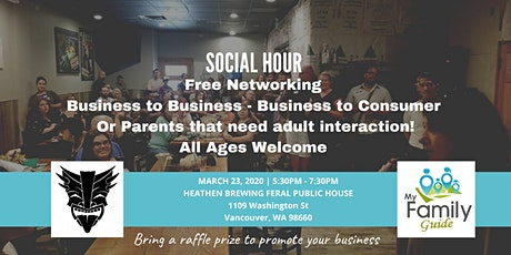 Social Hour and Networking Event (March) tickets