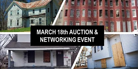 March Central & Northern NJ Real Estate Auction & Networking Event tickets
