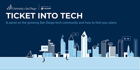Ticket into Tech: A panel on software engineering in San Diego tickets