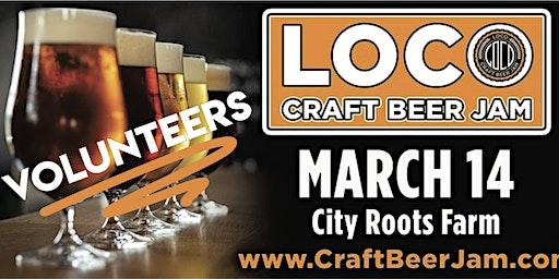 LoCo Craft Beer Jam - VOLUNTEER (free entry & shirt)