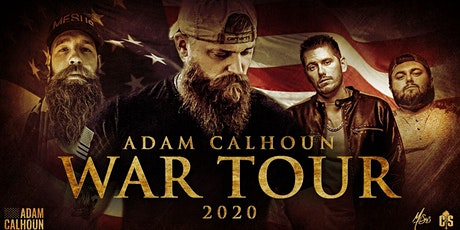 Adam Calhoun - WAR TOUR 2020 tickets