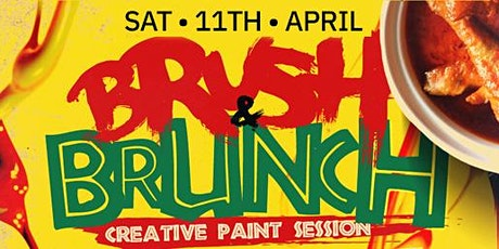 BRUSH & BRUNCH | (8pm to 11pm) |Paint party | Food Included tickets