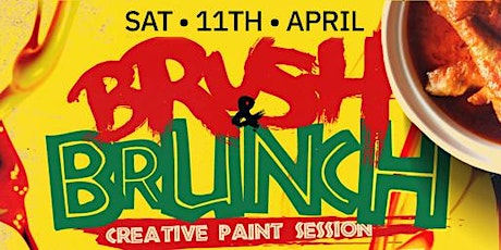 BRUSH & BRUNCH | (3pm - 7pm) | Paint party | Food Included tickets