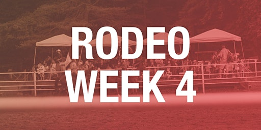 Rodeo Box Seats - Week 4 2019