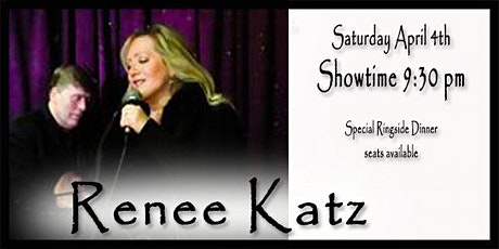Renee Katz - Sings Jule Styne 4/4/20 tickets
