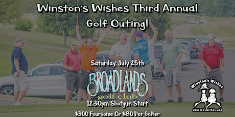 Winston's Wishes Third Annual Golf Outing tickets