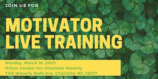 Motivator Live Training - Charlotte, NC
