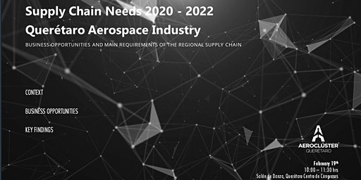 SUPPLY CHAIN NEEDS 2020 - 2022 QUERÉTARO AEROSPACE INDUSTRY
