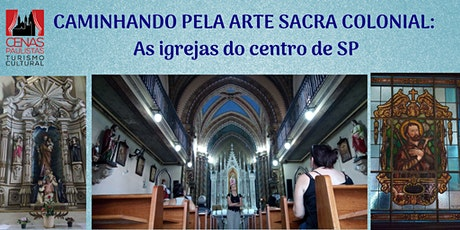 CAMINHANDO PELA ARTE SACRA ingressos
