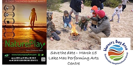 Movie Night - Nature Play Film: Taking Childhood Back. tickets