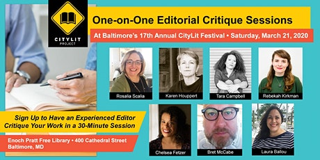 One-0n-One Editorial Critique Sessions tickets