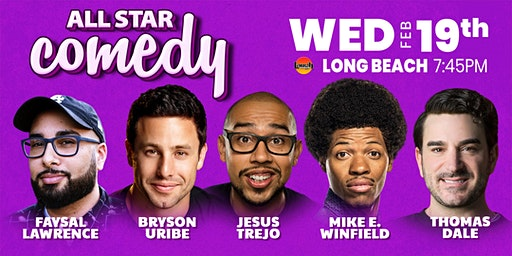 Mike E. Winfield, Thomas Dale, and more - All-Star Comedy