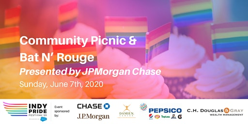 Indy Pride Community Picnic & Bat N' Rouge Presented by JPMorgan Chase