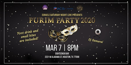 Purim Party 2020 tickets