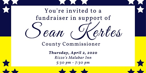 Fundraiser to Support Commissioner Sean Kertes