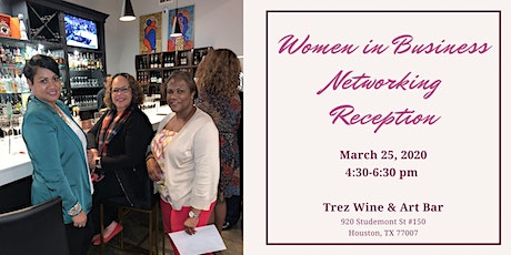Women in Business Networking Reception tickets