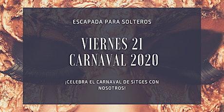 Escapada para solteros al Carnaval de Sitges 2020 entradas