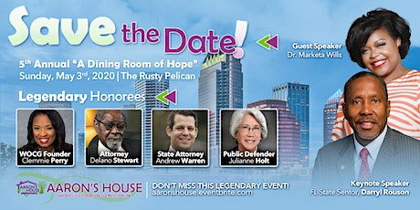 "5th Annual ""A Dining Room of Hope"" tickets"