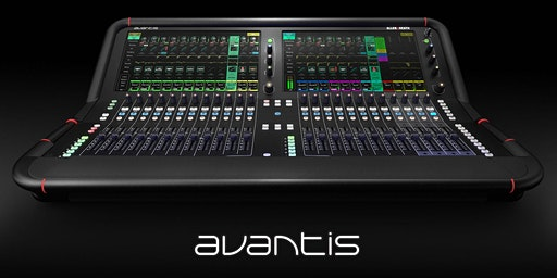 Allen & Heath Avantis Launch and Master Class with Andrew Crawford