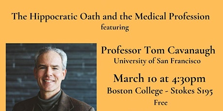 The Hippocratic Oath and the Medical Profession tickets