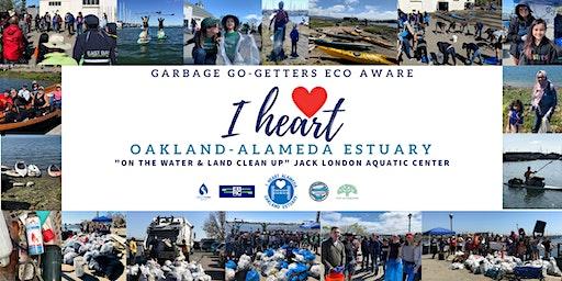 I Heart Oakland-Alameda Estuary Garbage Cleanup - Register HERE!