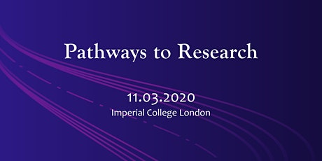 Pathways to Research: a workshop for BAME undergraduates tickets