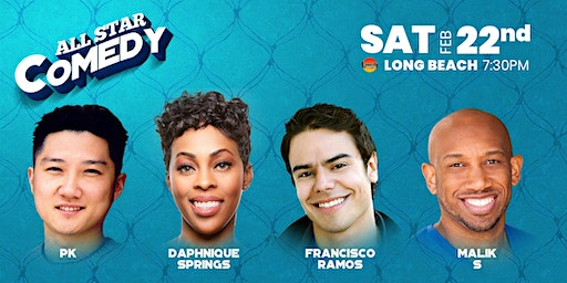 Daphnique Springs, Francisco Ramos, and more - All-Star Comedy