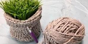 Farmhouse Crochet Basket