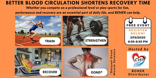 Better Blood Circulation Shortens Recovery Time!