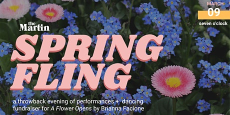 Spring Fling: a night of performance & dancing for A FLOWER OPENS tickets