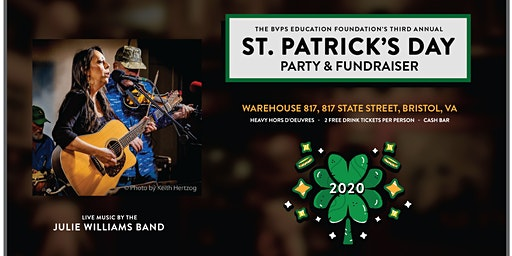 St. Patrick's Day Party & Fundraiser w/the Julie Williams Band