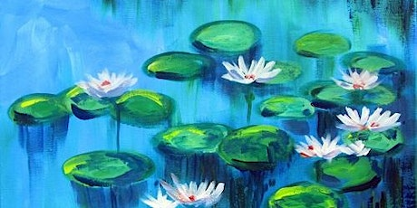 Monet's 'Water Lillies' - Fun Paint and Sip Event tickets